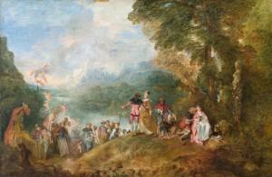 Pèlerinage à Cythère_Watteau